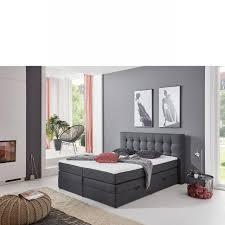 boxspringbett bx 1600 schwarz 160x200 hotelbett mit bettkasten bett schlafzimmer