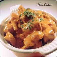 mimi cuisine émincés de poulet sauce mascarpone tomate cookeo de chez moulinex
