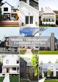 100 Contemporary House Siding Modern Farmhouse Exteriors