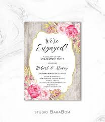 Engagement Invitation Party Printable