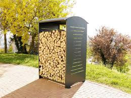 Log Racks outdoor StoreFIVESTARS Outdoor furniture pergolas