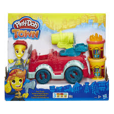 Play-Doh Town Fire Truck - £13.00 - Hamleys For Toys And Games