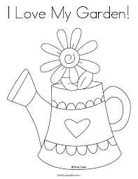 Best Ideas Of Printable Coloring Pages Garden On Reference