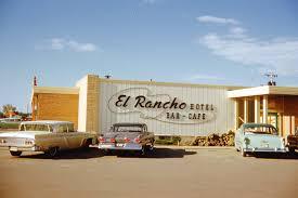 100 Loves Truck Stop Williston Nd El Rancho Motor Hotel North Dakota June 1959