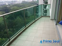 balcony waterproofing singapore condo the marbella mount sinai