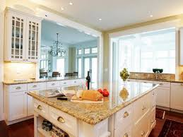 White kitchen cabinets with granite countertops pictures