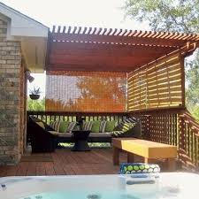 Bamboo Patio Curtains Outdoor by Outdoor Bamboo Curtains Scalisi Architects