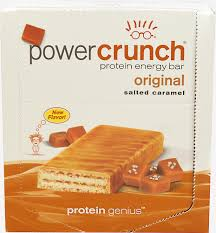 Bars Drinks Power CrunchR Bar Salted Caramel