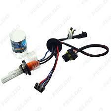 feeldo car accessories 2x car 12v 35w h15 xenon hid bulbs with