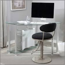 Small White Corner Desk Uk by Gorgeous Small Glass Top Computer Desk Coolest Home Decorating