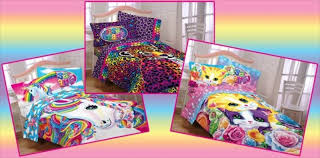 lisa frank is making bedding now