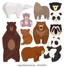 Cute Brown Mother Bear Clipart