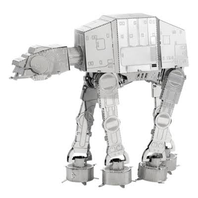 Metal Earth 3D Laser Cut Model Kit - Star Wars AT-AT, 1:6 Scale