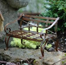 Miniature Furniture For Fairy Gardens And Railroad
