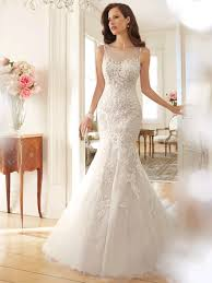 Tulle Wedding Dress With Dropped Waist Calandra Showcases The Kind Of Elegance That Transcends Time
