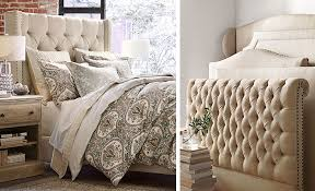 Headboard Designs For Bed by How To Pick Headboard Bedroom Pottery Barn