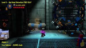 Lego Marvel That Sinking Feeling Minikit by Lego Marvel Super Heroes Level 6 Red Head Detention Free Play