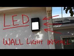 Outdoor LED Lighting Install