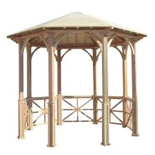 8 Person Patio Table Dimensions by Gazebos Sheds Garages U0026 Outdoor Storage The Home Depot