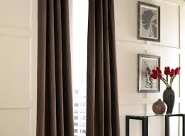 living room stunning curtain ideas for brown living room