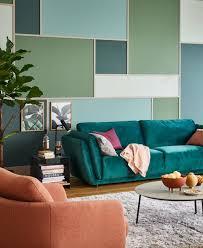 grüne farbe wandgemälde grün schöner wohnen kollektion