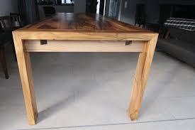 nußbaumtisch wohnzimmer holzwerken