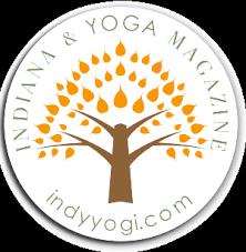 Indiana Yoga Magazine Sticker