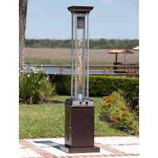 Az Patio Heaters Uk by Az Patio Heater Stainless Steel Glass Tube Tabletop Heater Hayneedle