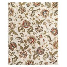Home Decorators Collection Lucy Cream 5 ft x 7 ft Area Rug