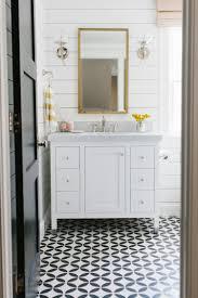 save or splurge black white floor tile studio mcgee