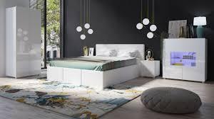 schlafzimmer komplett set 5 tlg labri weiss weiss hochglanz