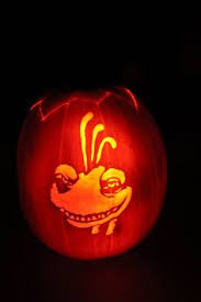 Monsters Inc Mike Wazowski Pumpkin Carving by Randall From Disney U0027s Monsters Inc Carved Pumpkin By