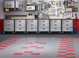 brilliant garage flooring tiles systems and designs customize your