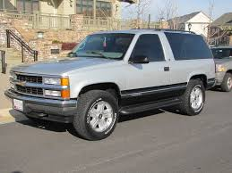 1997 Chevy Tahoe 2 Dr LOW MILES SOLD SOLD SOLD Eric s Muscle