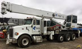 Altec AC38-103S 38-ton Boom Truck Crane Peterbilt 357 SOLD Trucks ...