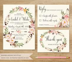 Printable Wedding By SweetPeonyDesign