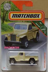 MATCHBOX 2018 MBX ROAD TRIP WILLYS JEEP PICKUP 4X4 [0013617] - $2.78 ... Rare Factory Panel Wagon 265 Sbc Swapped 1957 Willys 44 Bring A Jeepdraw Part Ucolors Jamies 1960 Pickup Truck The Build Jeep Wikipedia How To Swap Barnfind Onto Wrangler Yj Chassis 1962 First Drive Trend Knowledge Center Trucks The Highs And Lows Defense Contractor Plans Successor Based On Cohort Outtake When Pickups Were Work Parts Fishing What I Started 55 Truck