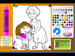 Full Size Of Coloring Pagedora Games Dora Hqdefault Page