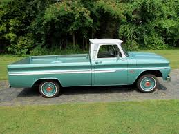 1966 Chevy Truck | 1966 Chevy C-10 Custom Pickup Truck In Pristine ...
