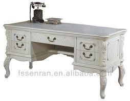 bureau classique blanc solide bureau en bois de bureau classique dans de sur