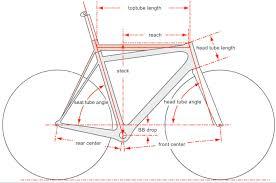 géométrie vélo route tout savoir sur la géométrie des cadres vélo