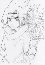 Naruto Vs Sasuke Drawing At GetDrawingscom Free For Personal Use