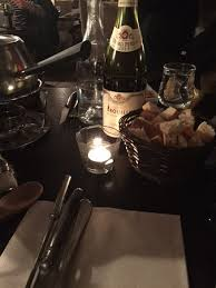 wine and bread picture of la maison des fondues marseille