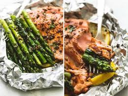 cuisiner équilibré préparez vous des papillotes de saumon et asperges pour manger sain