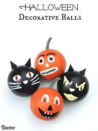 Easy Halloween Decorations Pumpkins Black Cats Darice