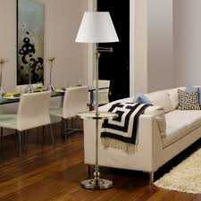 Floor Lamp With Table Attached Canada by Wooden Floor Lamps With Tables Attached Canada And Australia Pic