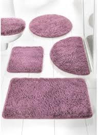 badzubehör textilien fuß garnitur teppich badezimmer