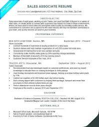 Sample Resume Sales Associate Clerk Functional
