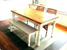 Table Bench Seat Tables With Benches Dining Room Kitchen And
