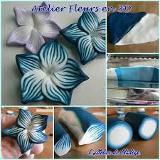 atelier fimo fleur en 3d projets à essayer atelier